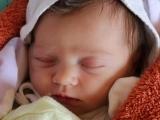 Antosia po 10 godzinach od urodzenia.